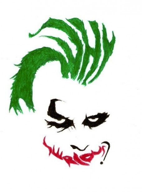 aweosme why so serious drawing words is the pciture slaymyboredom
