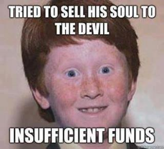 how to sell soul to devil for money