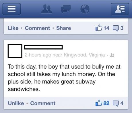 bully subway