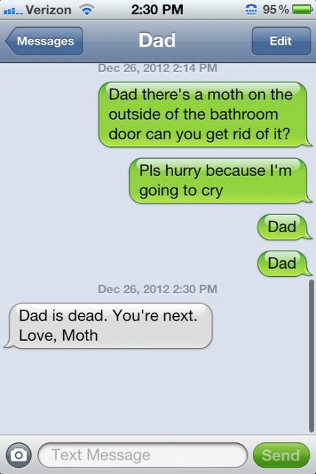 moth text
