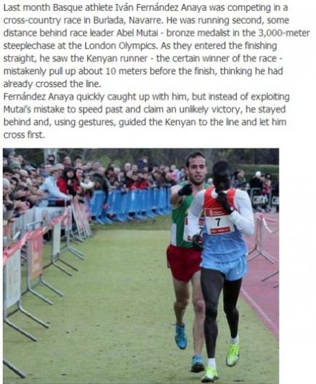 running win