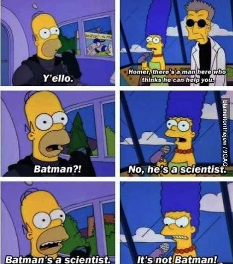 batman homer