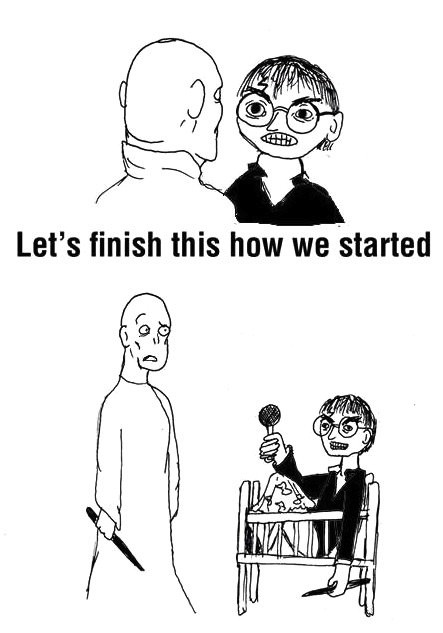 harry potter finish