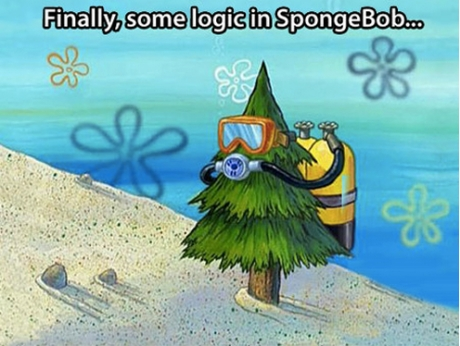 logic spongebob