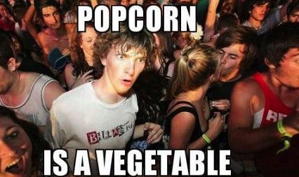 popcorn vege