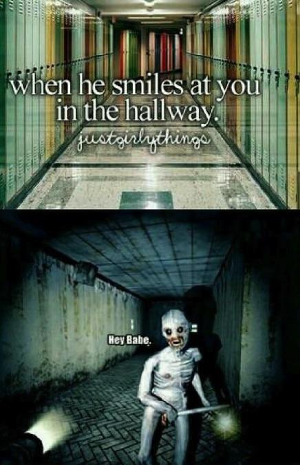 smile hallway