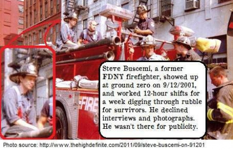 steve buscemi firefighter