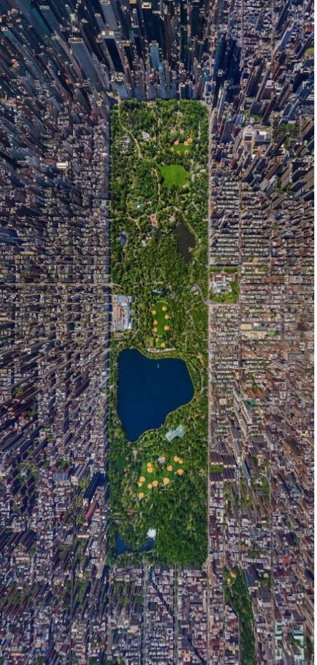 central park aerial