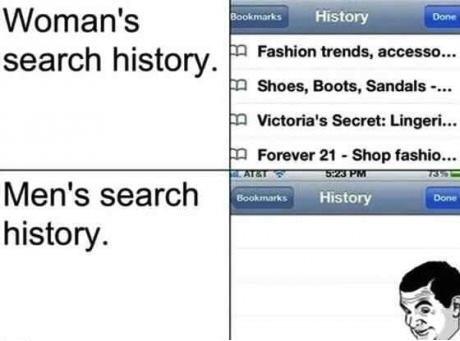 empty history