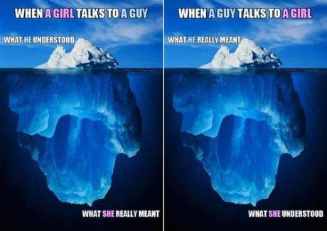 girl boy talk