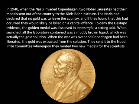 interesting gold medal