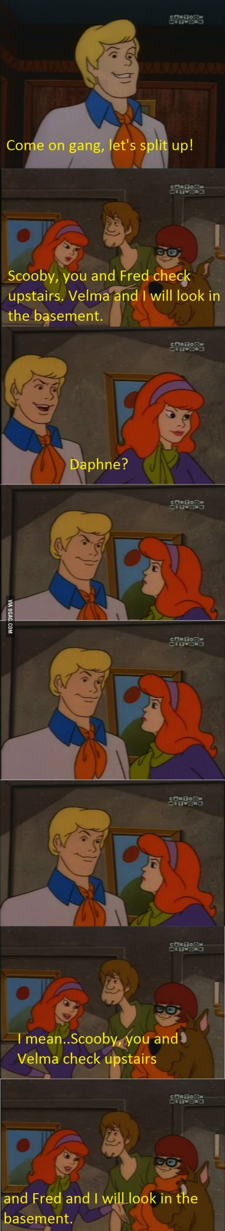 scooby doo ruined
