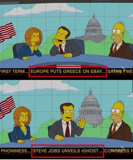 simpsons news