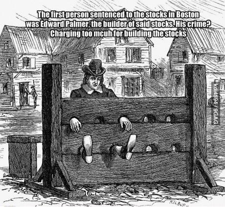stocks prison