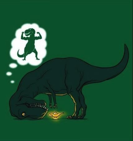 t rex hope wish