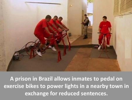 brazil prison bikes
