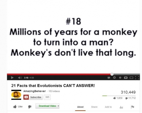 evolution wrong lol