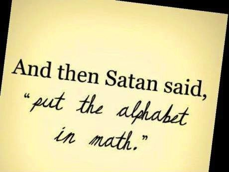 satan alphabet