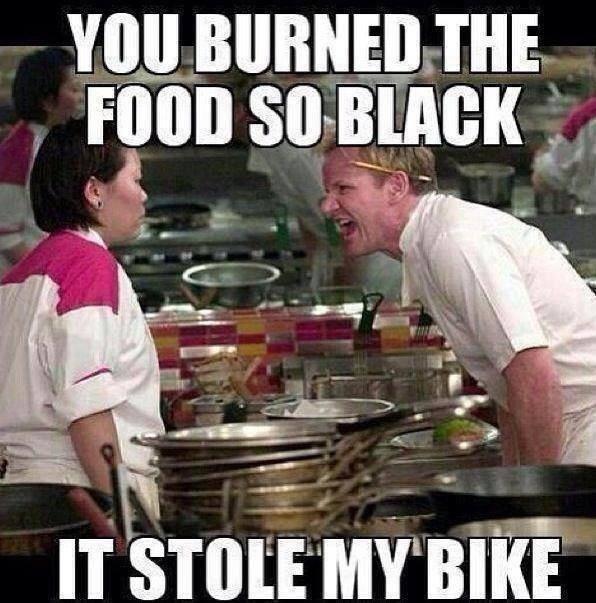 Burned Burnt So Black It Stole My Bike Slaymyboredom