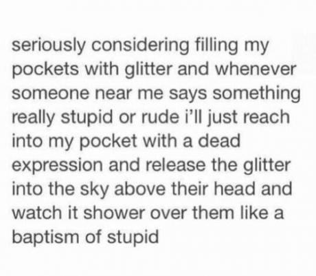 glitter throw