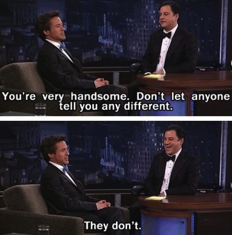 rdj handsome