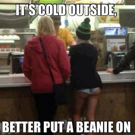 beanie cold