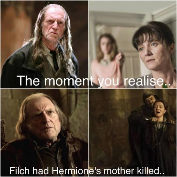 filch hermione