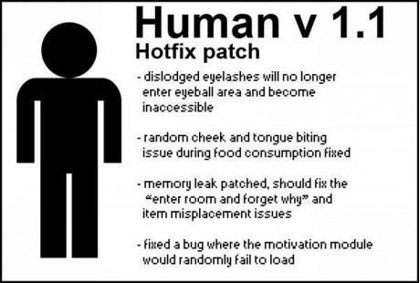 human updates