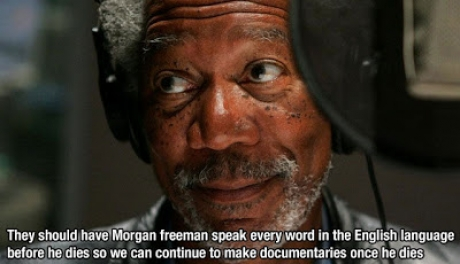 morgan speak words