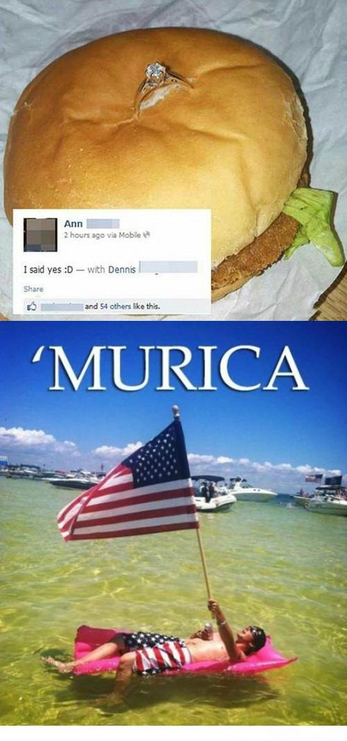 ring in burger murica