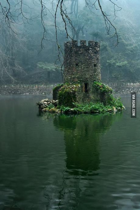 ruins of celtic castle