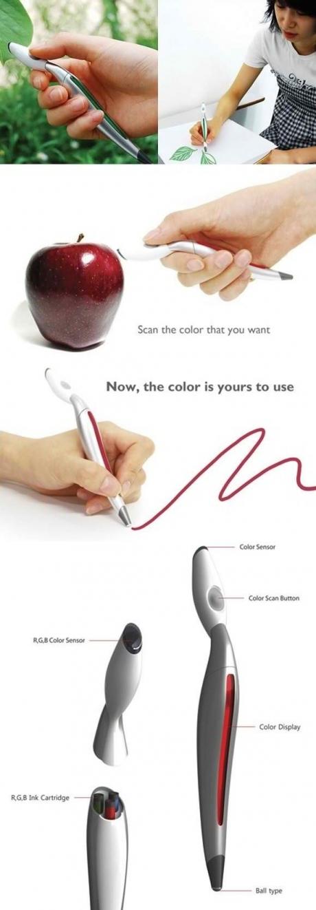 chameleon pen