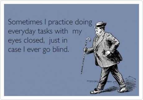 do tasks blind