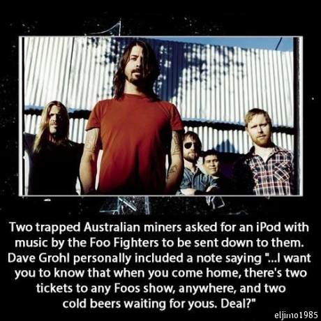 foo fighters miners