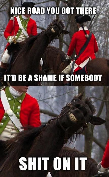 horse troll