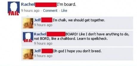 irony board