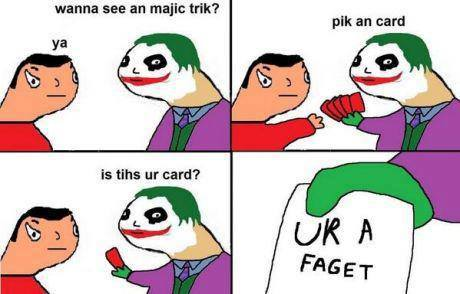 joker trick