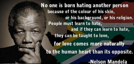 mandela on love