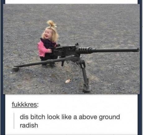 radish girl