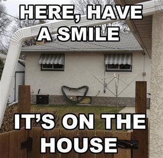 smile on house