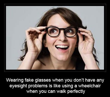 wheelchair glasses